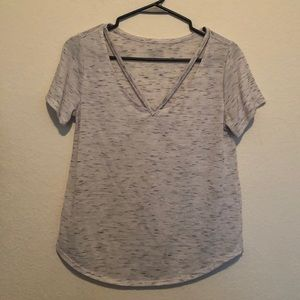 Tops - 2/$10 Beautiful Shirt with cut out detail